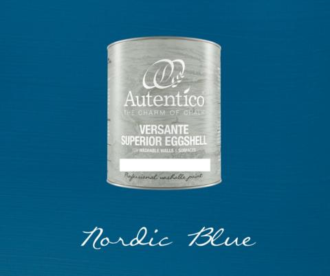 *Kalkkimaali - Tummansininen - Nordic Blue - Versante Eggshell - 500 ml