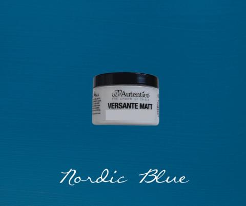Kalkkimaali - Tummansininen - Nordic Blue - Versante Matt - 125 ml