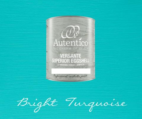 Kalkkimaali - Kirkkaanturkoosi - Bright Turquoise - Versante Eggshell - 500 ml