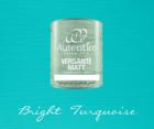 Kalkkimaali - Kirkkaanturkoosi - Bright Turquoise - Versante Matt - 500 ml