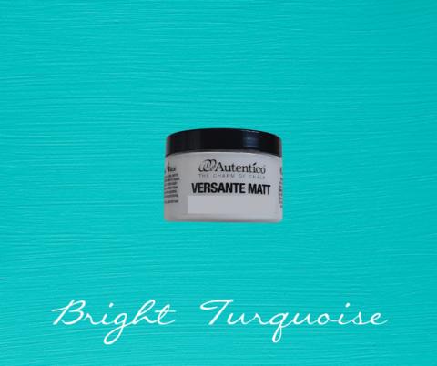 Kalkkimaali - Kirkkaanturkoosi - Bright Turquoise - Versante Matt - 125 ml