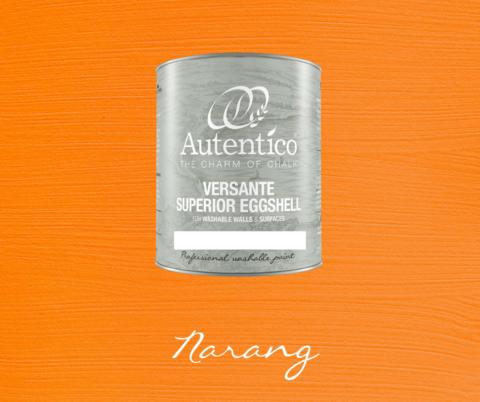 Kalkkimaali - Appelsiininoranssi - Narang - Versante Eggshell - 500 ml