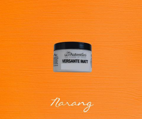 Kalkkimaali - Appelsiininoranssi - Narang - Versante Matt - 125 ml