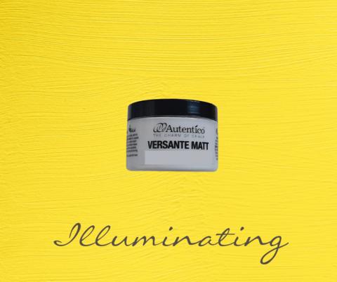 Kalkkimaali - Kirkkaankeltainen - Illuminating - Versante Matt - 125 ml