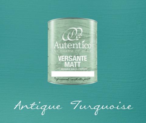Kalkkimaali - Antiikinturkoosi - Antique Turquoise - Versante Matt - 500 ml
