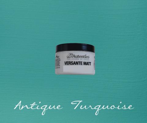 Kalkkimaali - Antiikinturkoosi - Antique Turquoise - Versante Matt - 125 ml