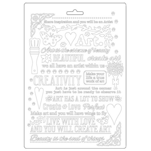 Tekstuurimuotti - 21 x 15 cm - Atelier Writing