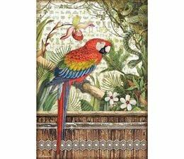 Decoupage-arkki - A4 - Amazonia Parrot