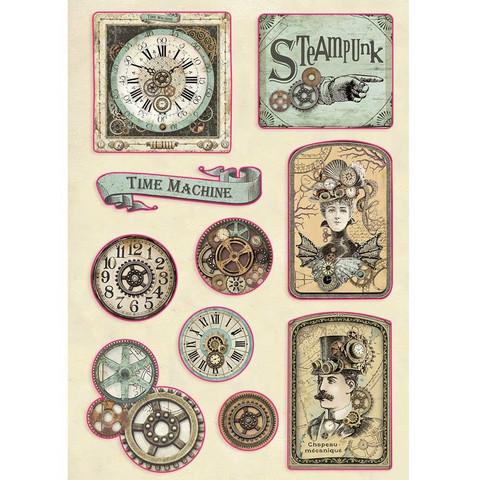 Vanerikoristeet - Levyn koko 14,8 x 21 cm - Voyages Fantastiques Tag