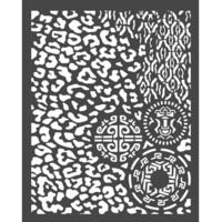 Sabluuna - 20 x 25 cm - Amazonia Animalier with Tribals