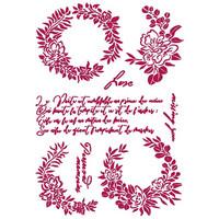Sabluuna - A4 - Romantic Journal Garlands Love