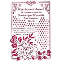 Sabluuna - A4 - Romantic Journal Flower with Frame