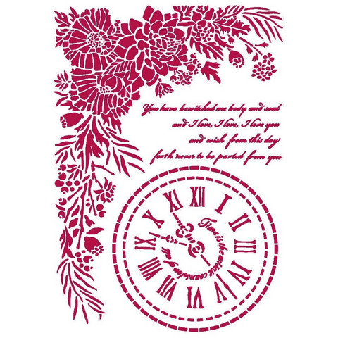 Sabluuna - A4 - Romantic Journal Clock