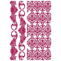 Sabluuna - A4 - Romantic Journal Border and Texture