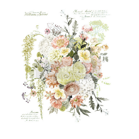 Siirtokuva - 60 x 88 cm - Life In Full Bloom - Prima Redesign Decor Transfer