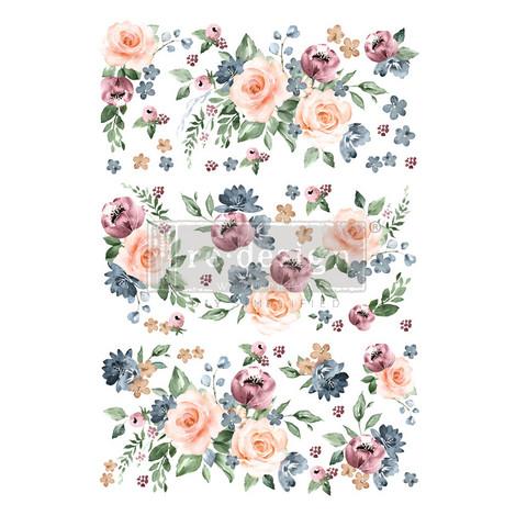 Siirtokuva - 60 x 88 cm - Watercolor Bloom - Prima Redesign Decor Transfer