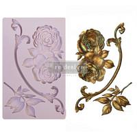 Silikonimuotti - 20x13 cm - Prima Re-Design - Victorian Rose