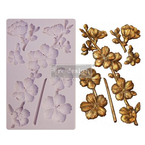 Silikonimuotti - 20x13 cm - Prima Re-Design - Botanical Blossoms