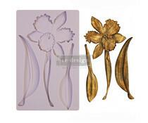 Silikonimuotti - 20x13 cm - Prima Re-Design - Wildflower