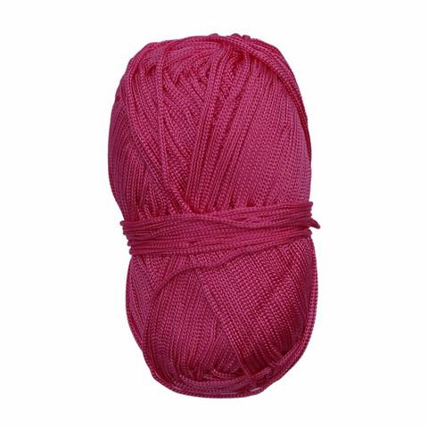 Makramee-punoskude - Mini vaaleanpunainen 40