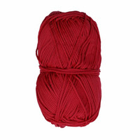 Makramee-punoskude - Mini punainen 43