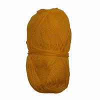 Makramee-punoskude - Mini keltainen 42
