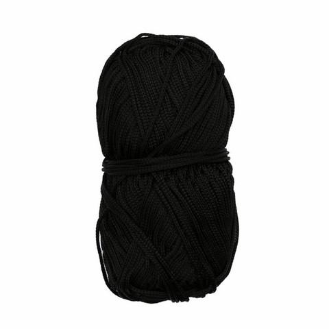 Makramee-punoskude - Mini musta 48