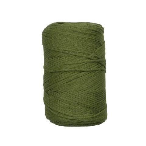 Makramee-punoskude - Sammaleenvihreä 87