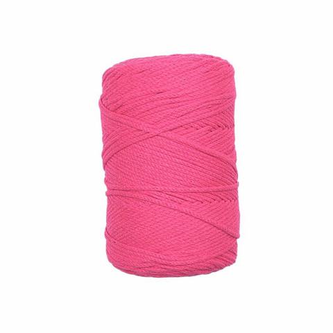 Makramee-punoskude - Pinkki 03