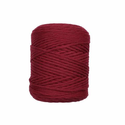 Makramee-moppilanka - Tummanpunainen 81
