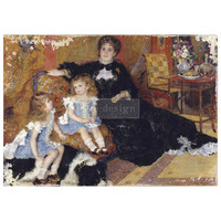 Decoupage-arkki - 59x84 cm - Family Moment  - Prima Redesign Decor Tissue Paper