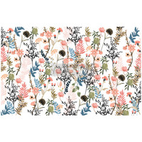 Decoupage-arkki - 48x76 cm - Pretty Meadows - Prima Redesign Decor Decoupage Paper