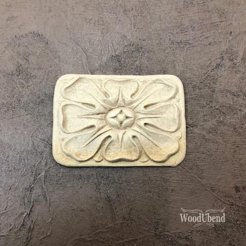 Puukoriste - 7x5 cm - WoodUBend 1662