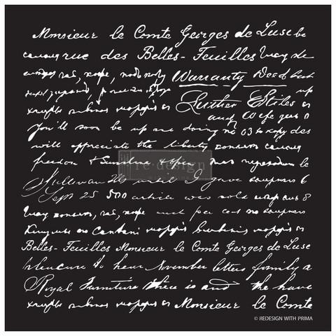 Sabluuna - 45x45 cm - Script - ReDesign With Prima