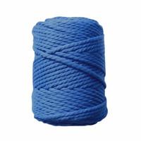Makramee-kierrenaru 5 mm - Sininen