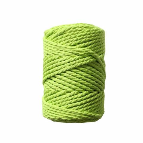 Makramee-kierrenaru 3 mm - Kirkas vihreä