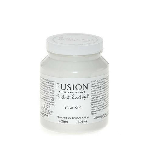 Fusion Mineral Paint - Raw Silk - Silkinvalkoinen - 500 ml