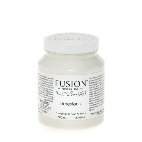 Fusion Mineral Paint - Limestone - Kivenvalkoinen - 500 ml