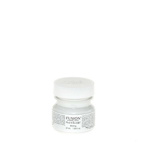 Fusion Mineral Paint - Sterling - Hopeanharmaa - 37 ml