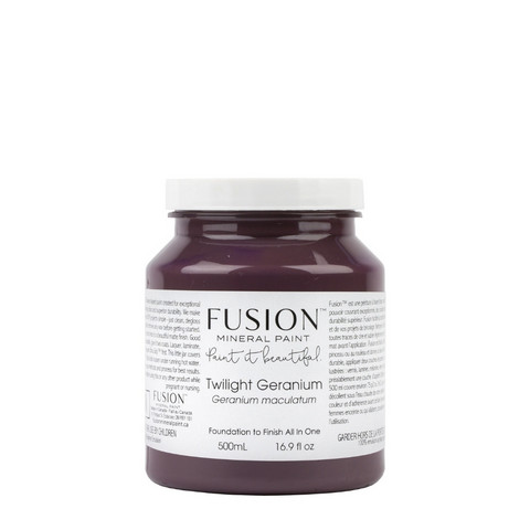 Fusion Mineral Paint - Twilight Geranium - Kurjenpolvenvioletti - 500 ml