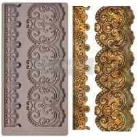 Silikonimuotti - 25x13 cm - Prima Re-Design - Border Lace