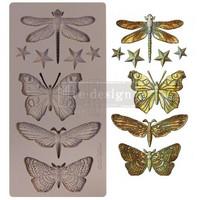 Silikonimuotti - 25x13 cm - Prima Re-Design -  Insecta & Stars