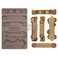 Silikonimuotti - 20x13 cm - Prima Re-Design - Steampunk Plates