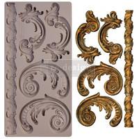 Silikonimuotti - 25x13 cm - Prima Re-Design - Lilian Scrolls