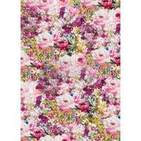 Decoupage-arkki - 29x41 cm - Fuchsia Meadow - Redesign Decor Rice Paper