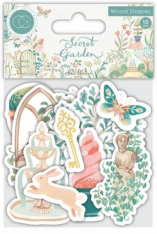 Vanerikoristeet - Secret Garden
