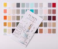 Fusion Mineral Paint - Värikartta