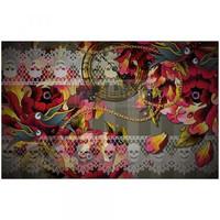 Decoupage-arkki - 48x76 cm - Ink & Lace - Prima Redesign Tissue Paper