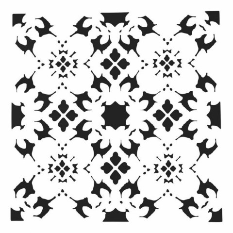 Sabluuna - 30 x 30 cm - Poppy Grid