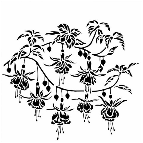 Sabluuna - 30 x 30 cm - Fuchsia
